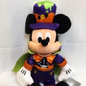 Disney Mickey Mouse Halloween Vampire Plush 🎃 NWT